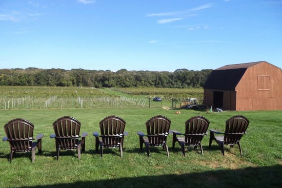 Dartmouth, MA: A perfect spot to sit with a nice glass of wine.