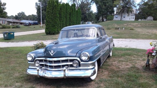 Searsboro, IA: This is my Cadillac it's a 1950 all original 48000 miles there's another show car in town it's a