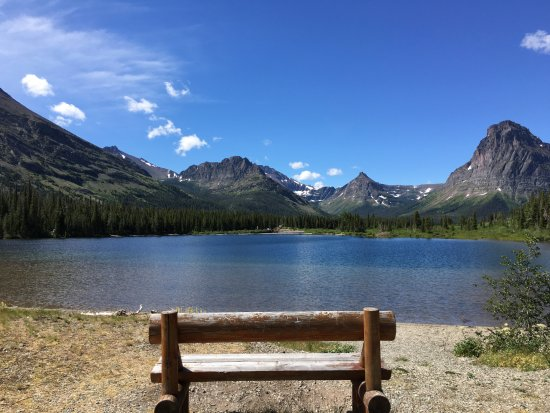 West Glacier, MT: Picnic spot and the start of our adventures.