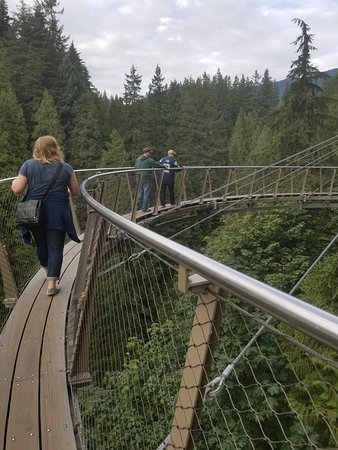 Vancouver Utara, Kanada: the cliff walk