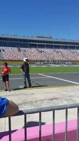 Concord, NC: On pit row waiting my turn
