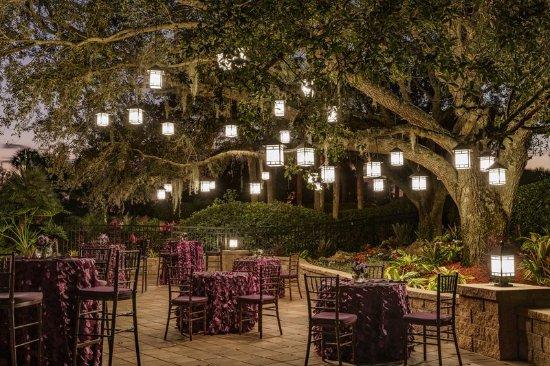 Hyatt Regency Grand Cypress: Oak Terrace Reception