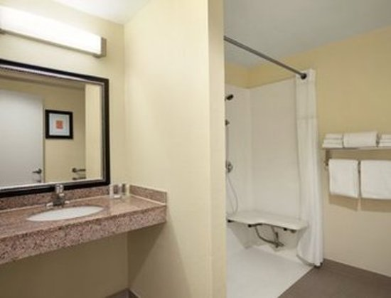 Howard Johnson by Wyndham San Diego Sea World : ADA Bathroom