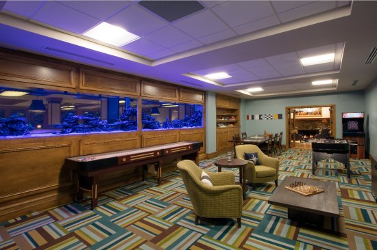 McCall, ID: The Tank - game room