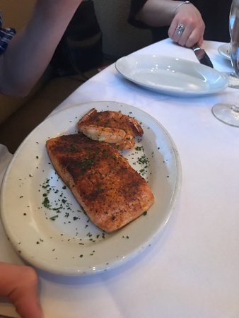 Ruth's Chris Steak House - Edmonton: Salmon special