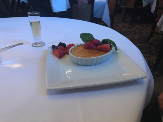 Ruth's Chris Steak House - Edmonton: Creme Brulee
