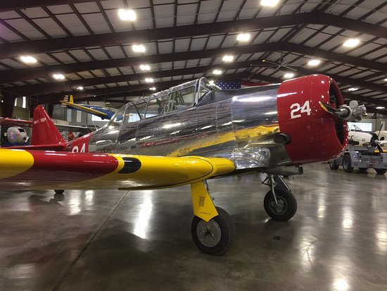 Μίντλαντ, Τέξας: One of the many excellent planes at the Midland Army Air Field Museum