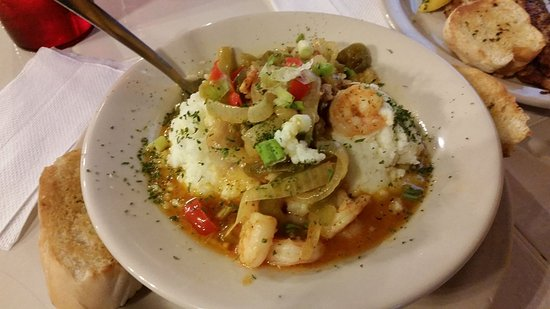Marble Falls, Τέξας: Shrimp and grits