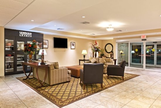 Hotel Lobby Picture Of Candlewood Suites Pearland
