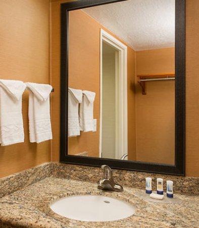GreenTree Inn & Suites Mesa / Phoenix : Guest Bathroom