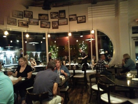 Garage Grill & Fuel Bar: Inside view of the restaurant