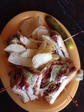Cowboy's Bar-B-Q: Off menu BLT sandwich. Best in town.