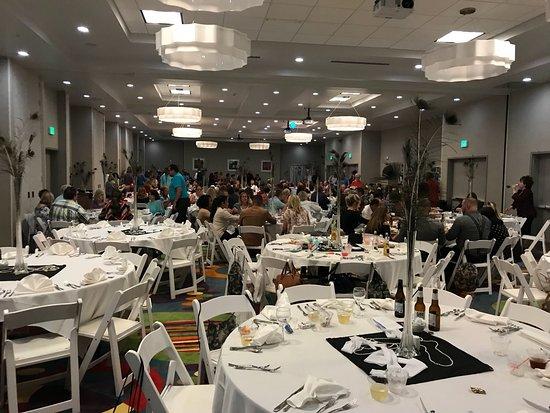 The Banquet Room Picture Of Hilton Garden Inn Jacksonville Jacksonville Tripadvisor