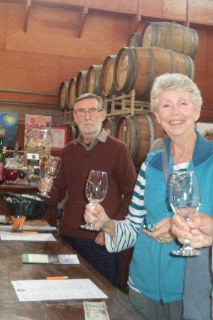 Dartmouth, MA: Ready to taste the wine