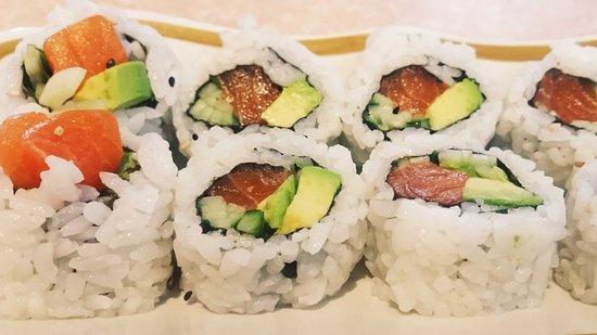Ladysmith, Canada : Salmon Sushi Roll
