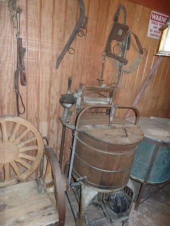Yucaipa, CA: Wooden wringer washers 1900s