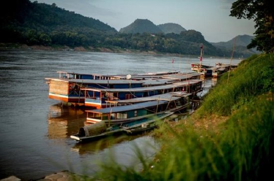 Mekong Sunset Cruise from Luang...