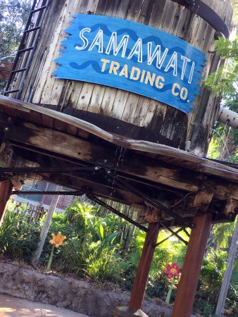 Disney's Animal Kingdom Villas - Kidani Village: Great kiddo section of the pool, and a cool slide