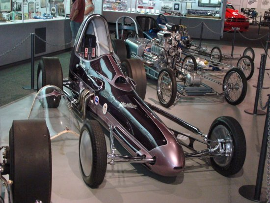Wally Parks NHRA Motorsports Museum: The Glass Slipper