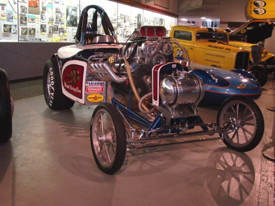 Fuel Altered - Picture of Wally Parks NHRA Motorsports Museum