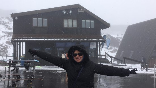 Whakapapa, New Zealand: happy face