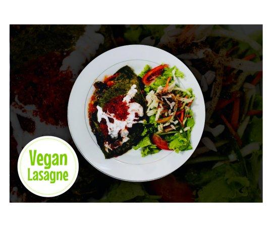 Vegan Lasagne - Picture of Alkaline Restaurant, Canggu