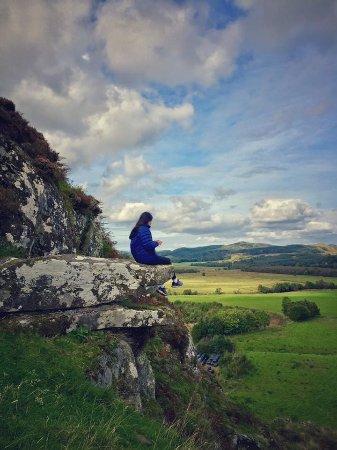 Lochgilphead, UK: Dunadd Fort