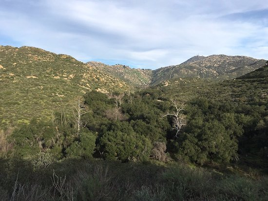 Poway, CA: View of Blue Sky Canyon from the Al Toreto Trail