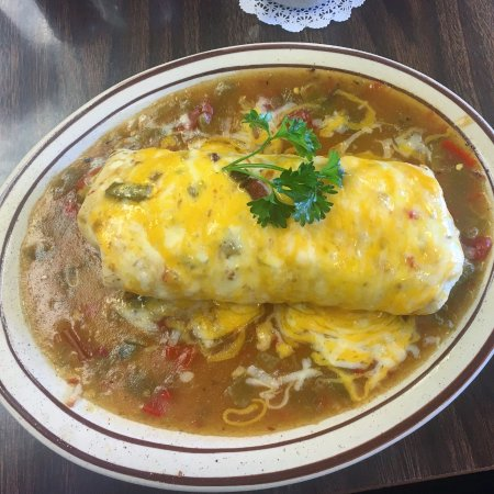 Vic's Daily Cafe: Breakfast Burrito