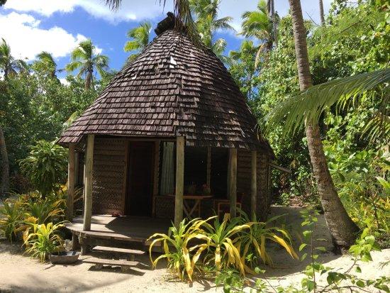 Fafa Island, ตองกา: The fale
