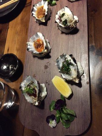 Ichi Ni Nana: oysters galore