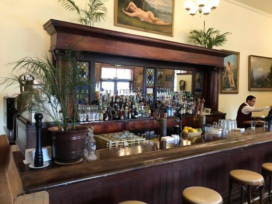 Baldwin Saloon: 100 years here..