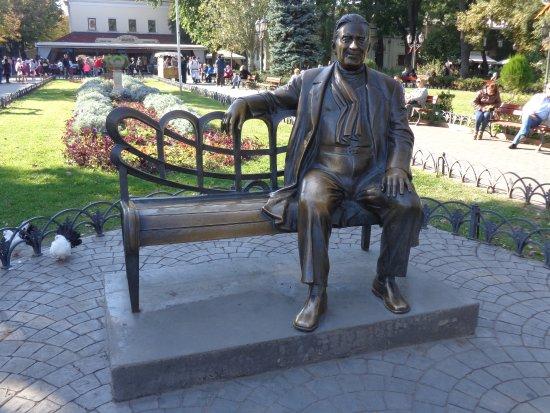 Monument to L. Utesov Photo