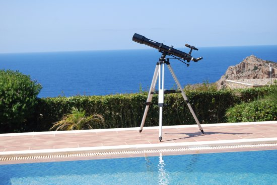 Keramoti Villas: Enjoy the view in the day and the starts in the night!