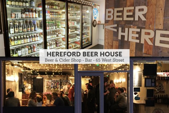 ‪‪Hereford‬, UK: Craft beer and local cider to drink in or take away‬