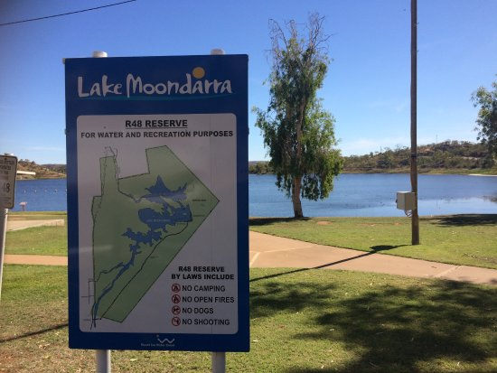 Mount Isa, Australia: Info sign