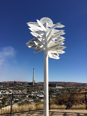 Mount Isa, Australia: Distance signs