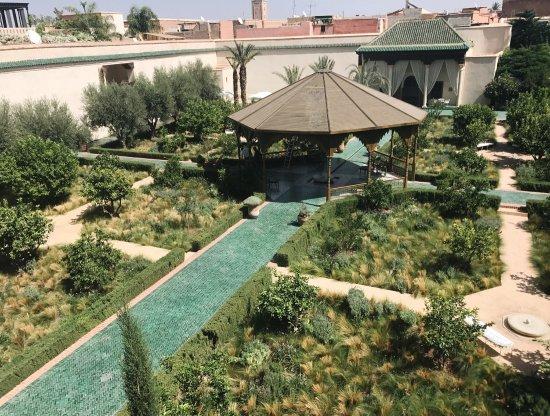 Hbiqa pavilion billede af le jardin secret marrakech for Le jardin secret
