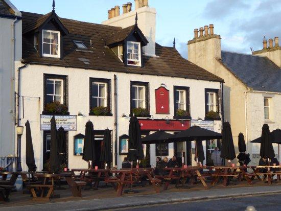 Crown Hotel: Smaczne jedzenie w Portpatrick