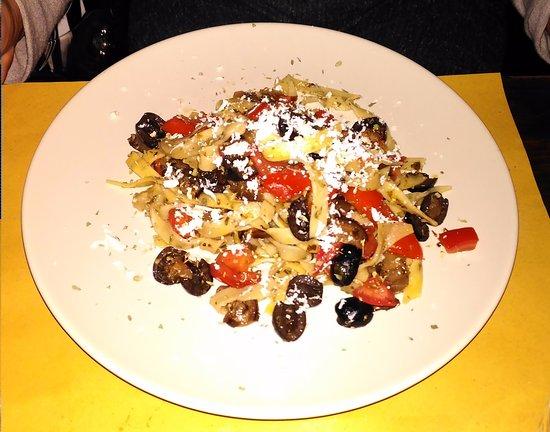Bassano Romano, Włochy: Tagliatelle con verdura