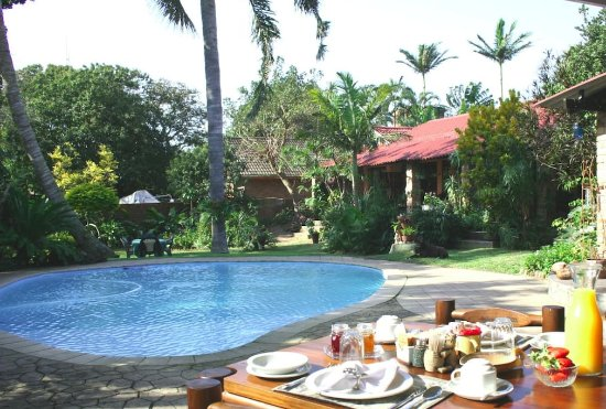 Maputaland Guest House: Breakfast View
