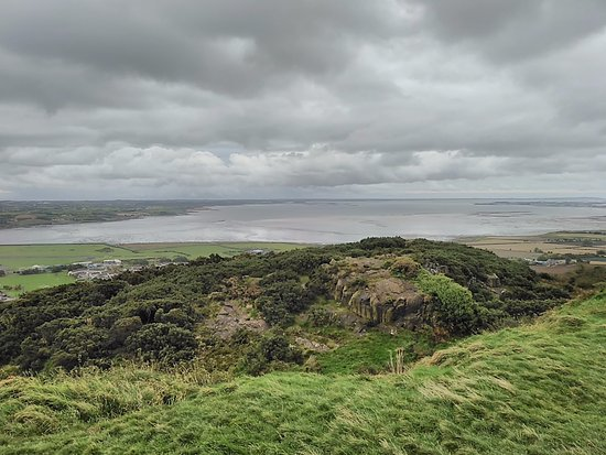 Scrabo Tower: View from Tower over Strangford Lough