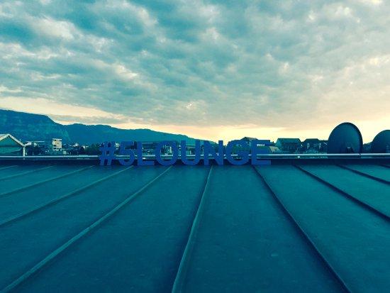 Hotel Metropole Geneve: roof top bar