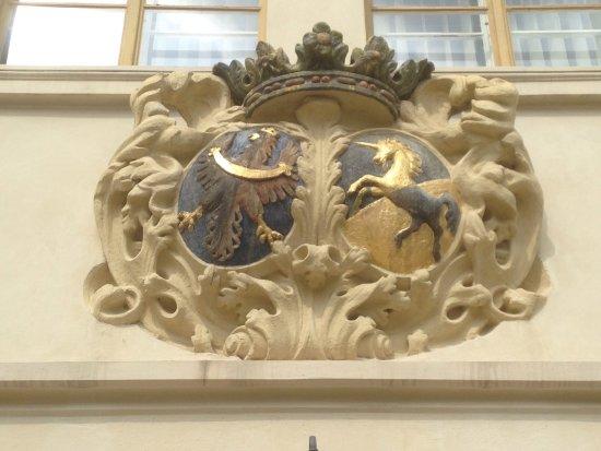 Blovice, Republika Czeska: seal of the family