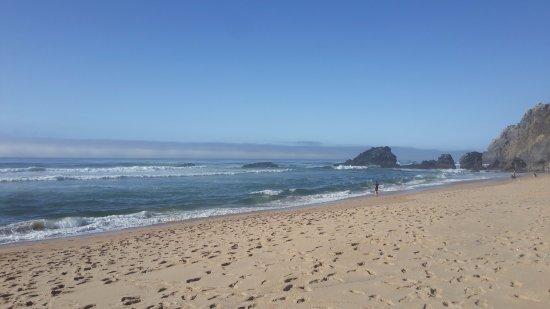 Adraga Beach: other side view