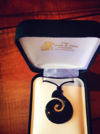 Arrowtown, New Zealand: Great pendant