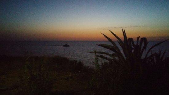 Mytikas, Greece: Sunset vista