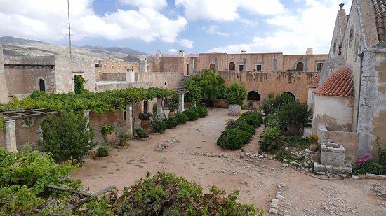Rethymno, Grécia: Courtyard