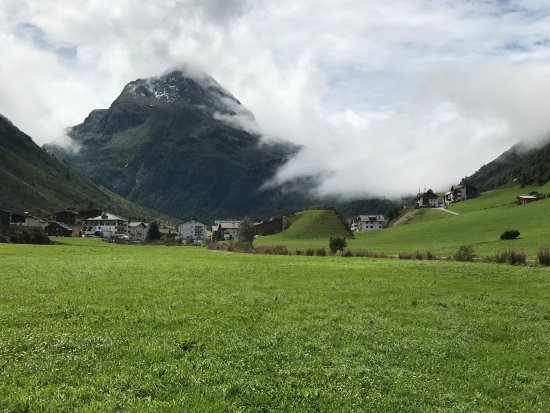 Alpinarium Galtür: Dorfansicht 2