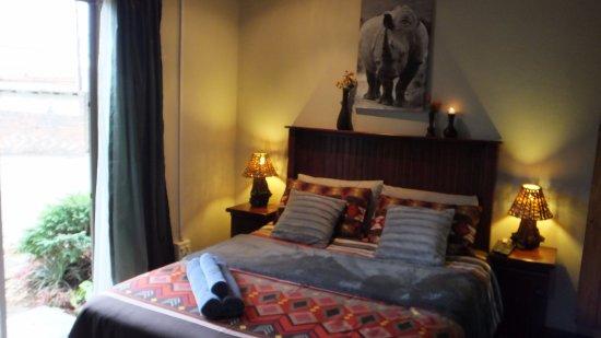 Sabie, جنوب أفريقيا: Rhino room